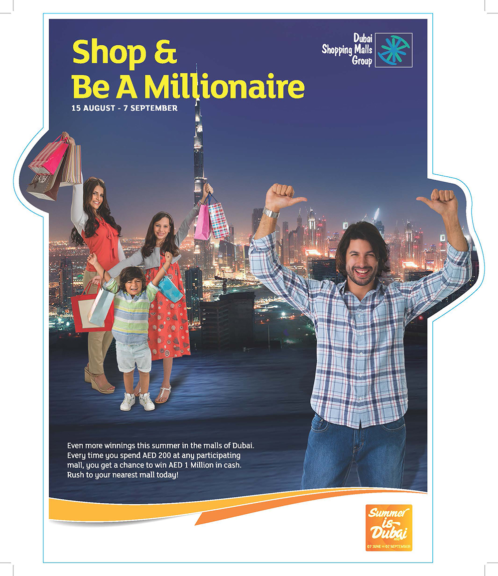 Shop and millionaire 2013 (Promotion)